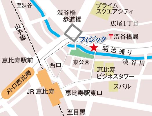 フィジック地図