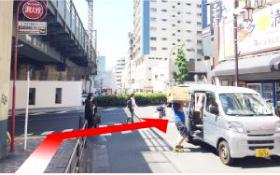 4.大きい通り(駒沢通り)に出たら右に向かいます。のイメージ