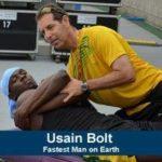 陸上100mの覇者、ウサイン・ボルト選手もカイロプラクティックのファンの一人です
