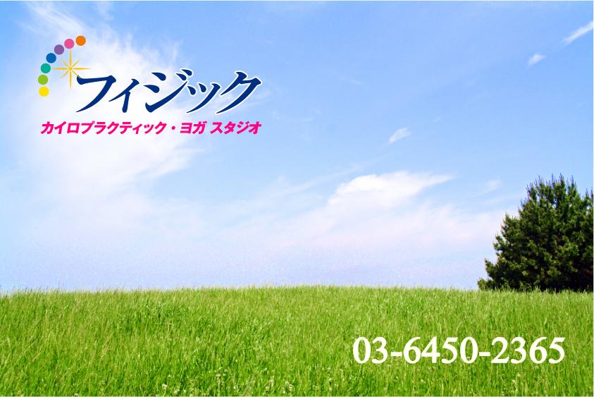フィジック恵比寿と草原