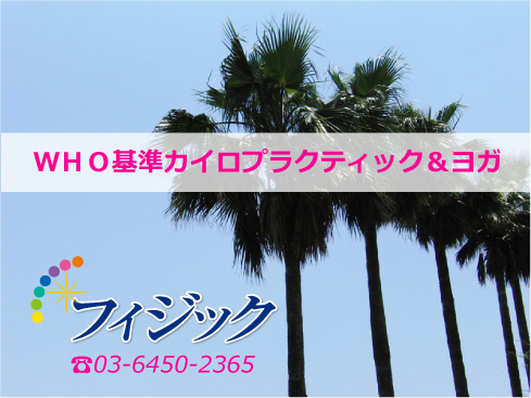 渋谷区恵比寿の骨盤整体ならフィジック!広尾1丁目で恵比寿駅から4分!