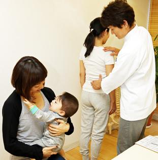 産後の骨盤をチェック