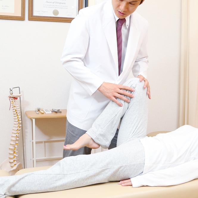 膝関節 整体治療 渋谷 恵比寿